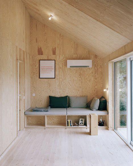 Cabin Porn Plywood, Gothenburg and 1950s - reddy küchen wien