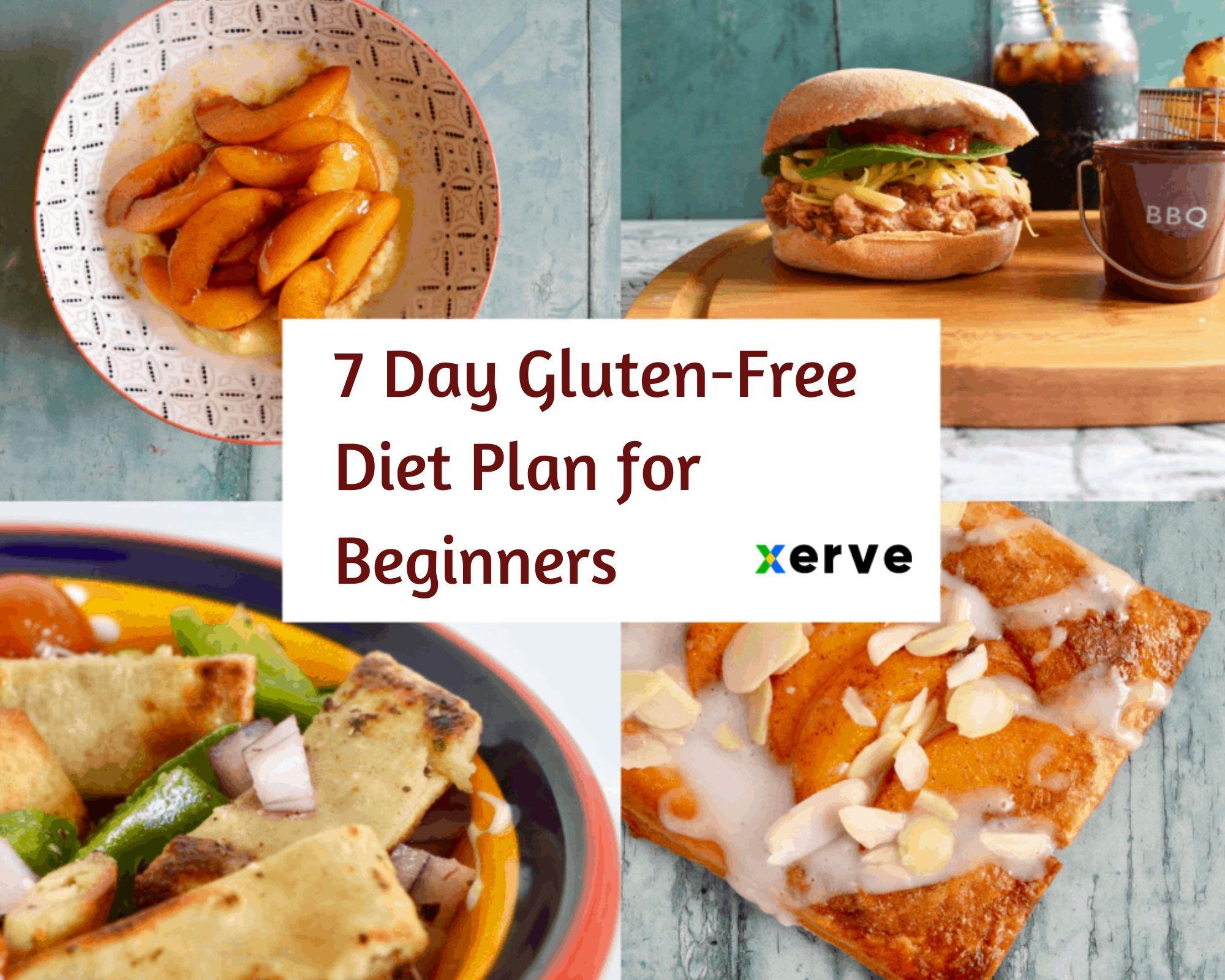7 day glutenfree diet plan for beginners gluten free