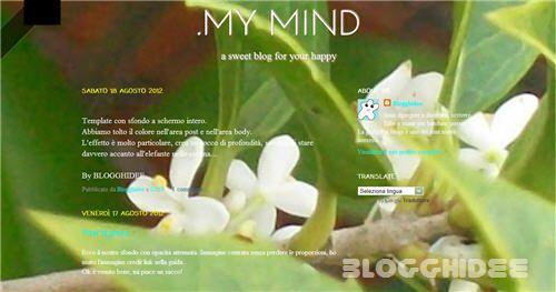 Come aggiungere uno sfondo a schermo intero su Blogger.   #blogger