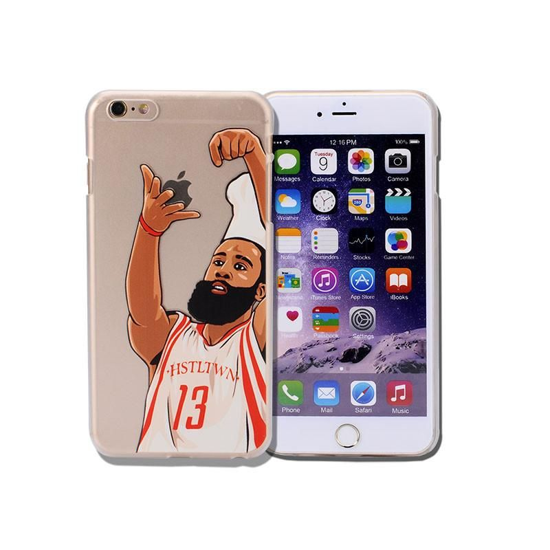 d9194c40565 NBA phone case james harden michael jordan lebron james phone cover coque  for iphone 6 6s 5 5s