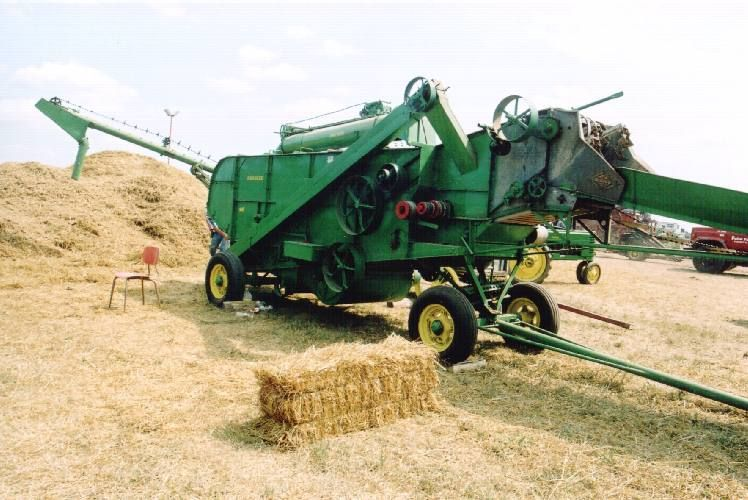 Pin On Threshing Machines And