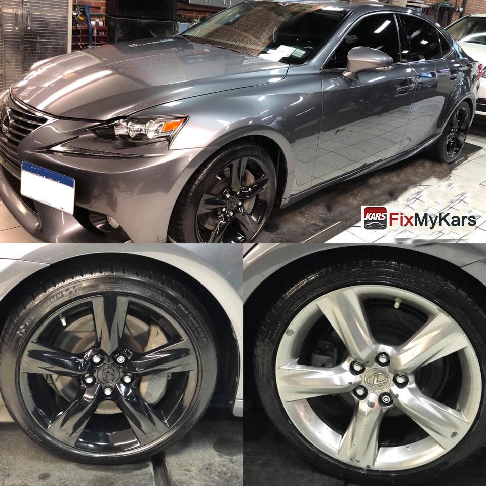 Wheel color change and enhancement polish for this 2014