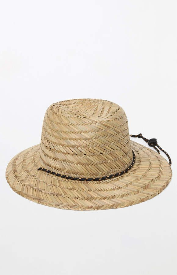 7683b6d6471 Billabong Nomad Straw Lifeguard Hat