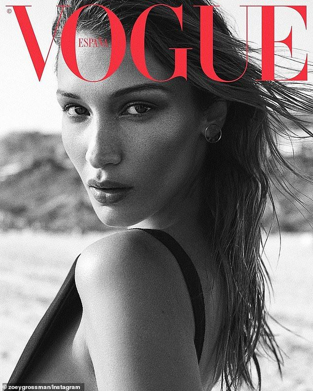 Bella Hadid posts snaps from sultry Vogue Spain shoot