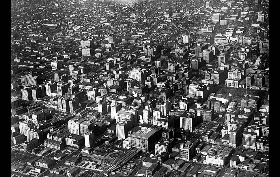 News From California The Nation And World Los Angeles Times Aerial Photo Los Angeles Los Angeles History