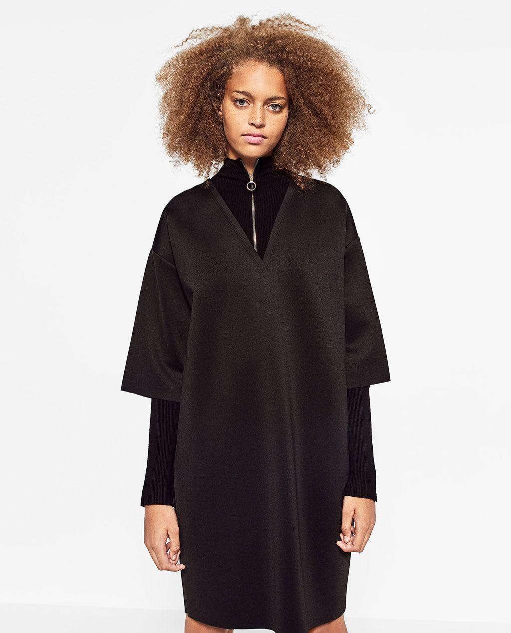 610b701a Image 2 of FLOUNCE DRESS from Zara Zara Women, Cold Shoulder Dress, Ireland,