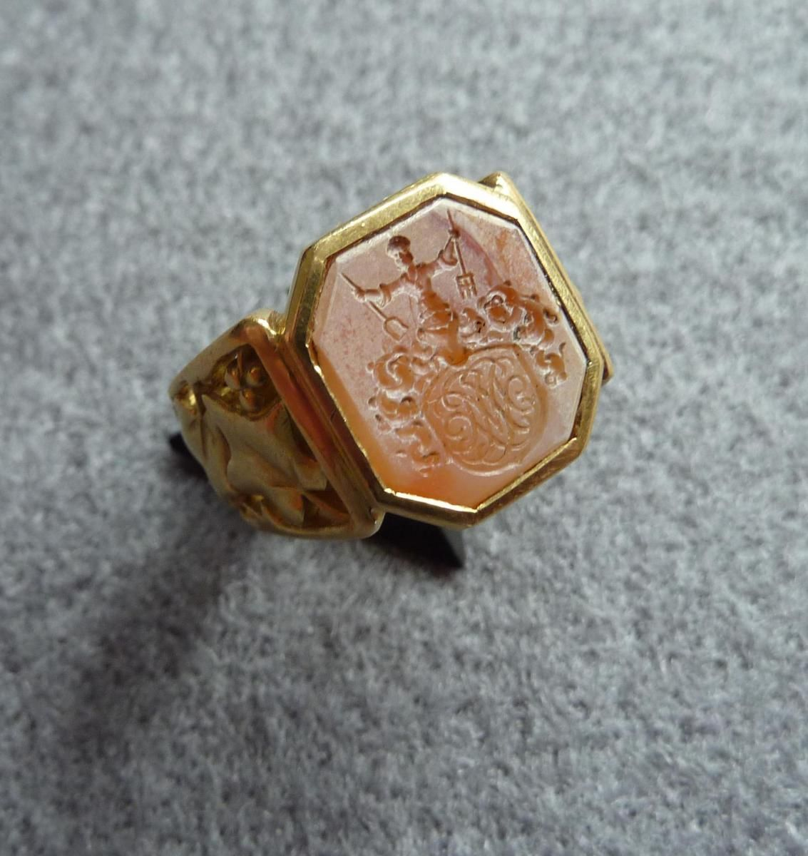 bague homme ancienne occasion
