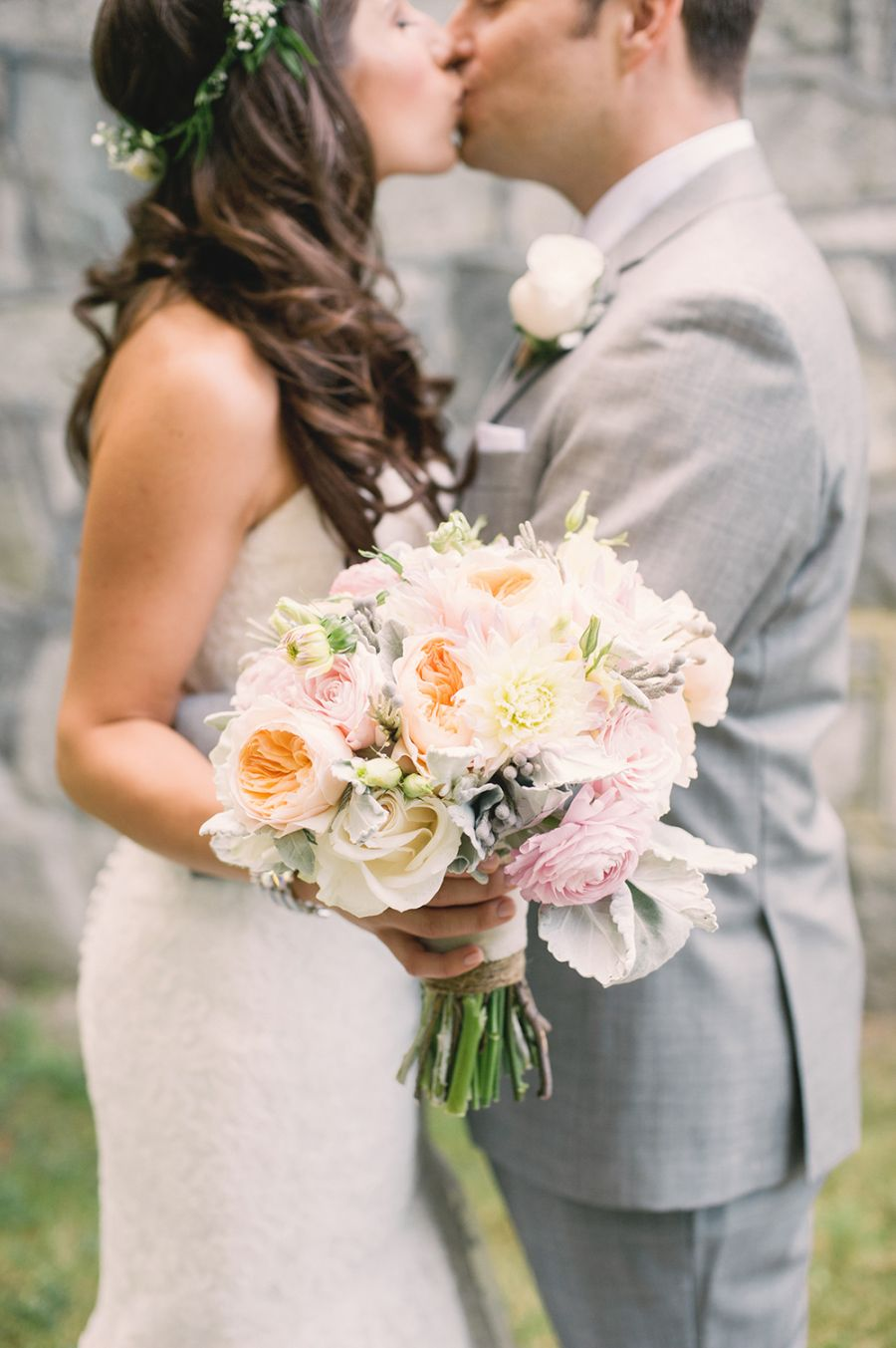 Whimsical meets Rustic Garden Wedding in Canada (With