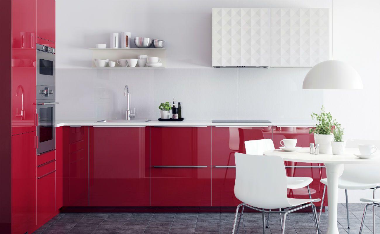 Metod Ist Kein Appelkaka Neues Kuchensystem Von Ikea Kuche Rot