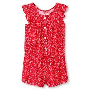 Baby Girls' Floral Challis Jumpsuit Pink - Genuine Kids from Oshkosh™ : Target