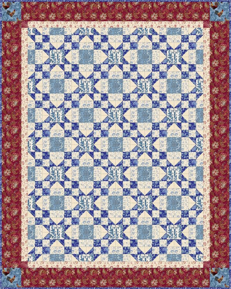 Stars across quilt pattern quilts pinterest patterns easy stars across quilt pattern jeuxipadfo Gallery