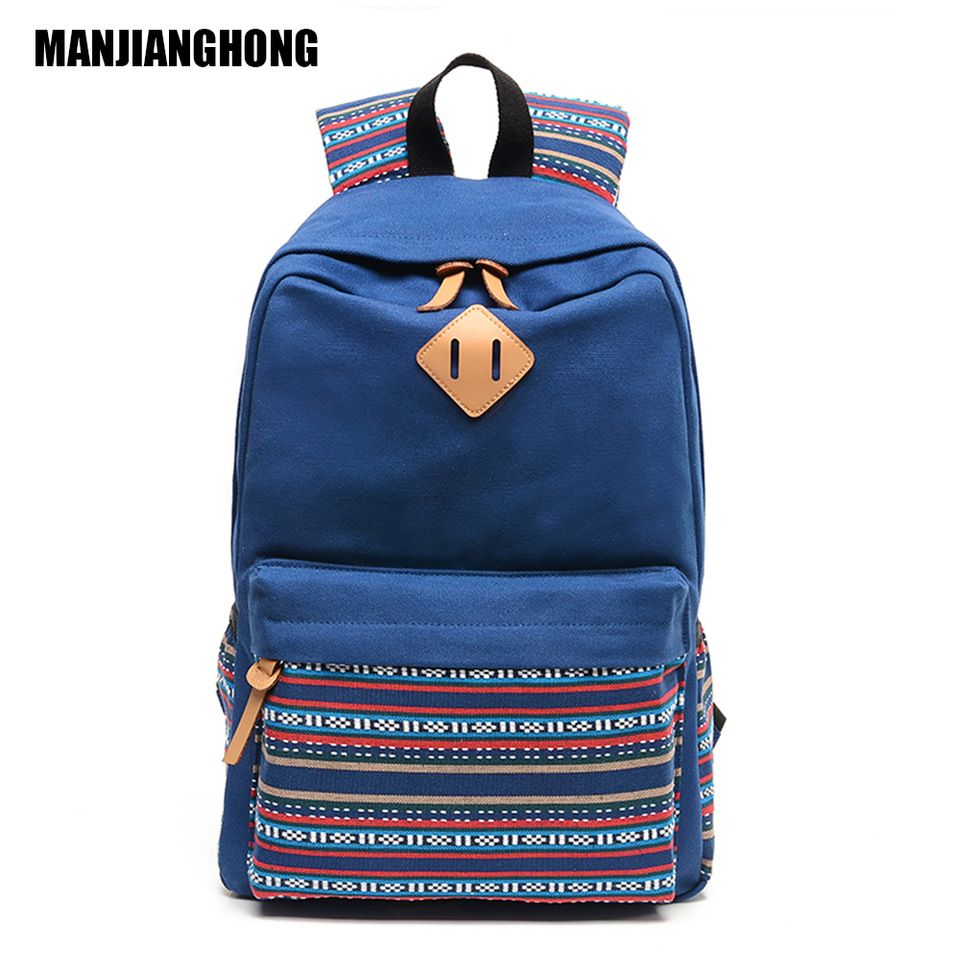 87509aa989 Bag · Custom Canvas Backpack School Bag