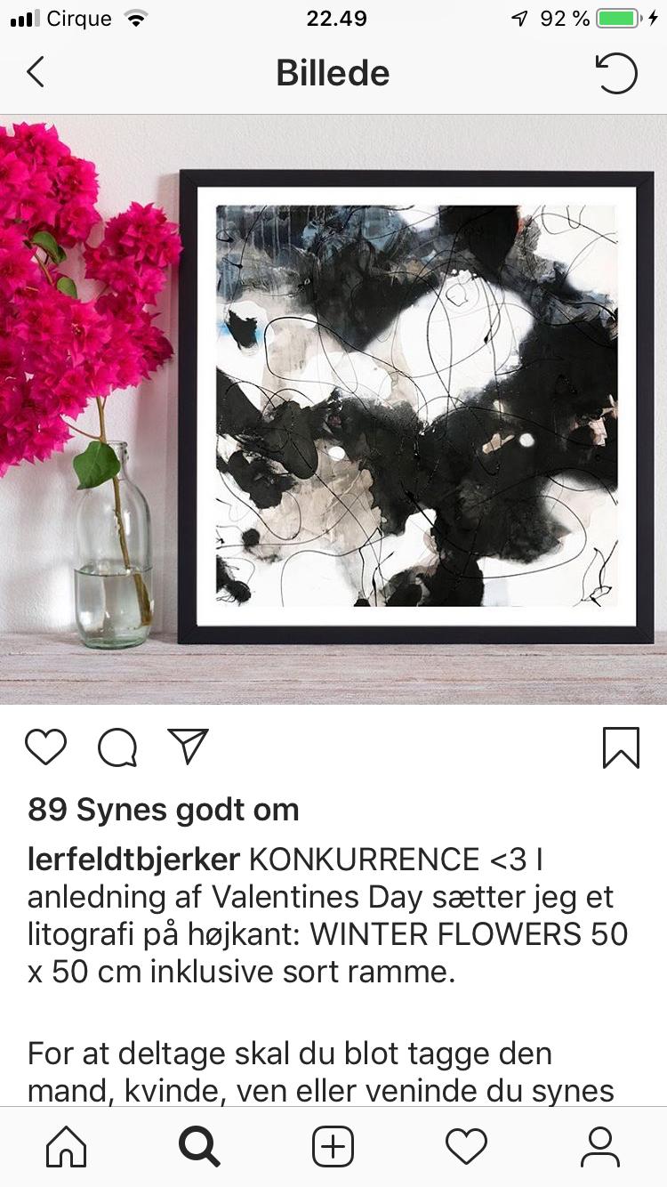 Pin Af Tinna Nielsen Pa Gallery Billede Valentines Litografi