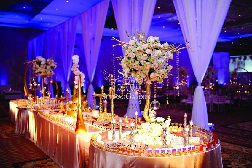 Suhaag Garden, Dessert Lounge Dessert, Gaylord Palms, Florida wedding decorator, Indian wedding decorator