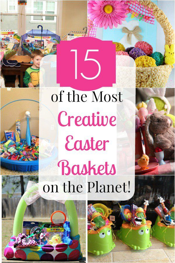 15 of the most creative easter baskets on the planet easter gift 15 of the most creative easter baskets on the planet easter gift basketseaster basket ideashappy negle Image collections
