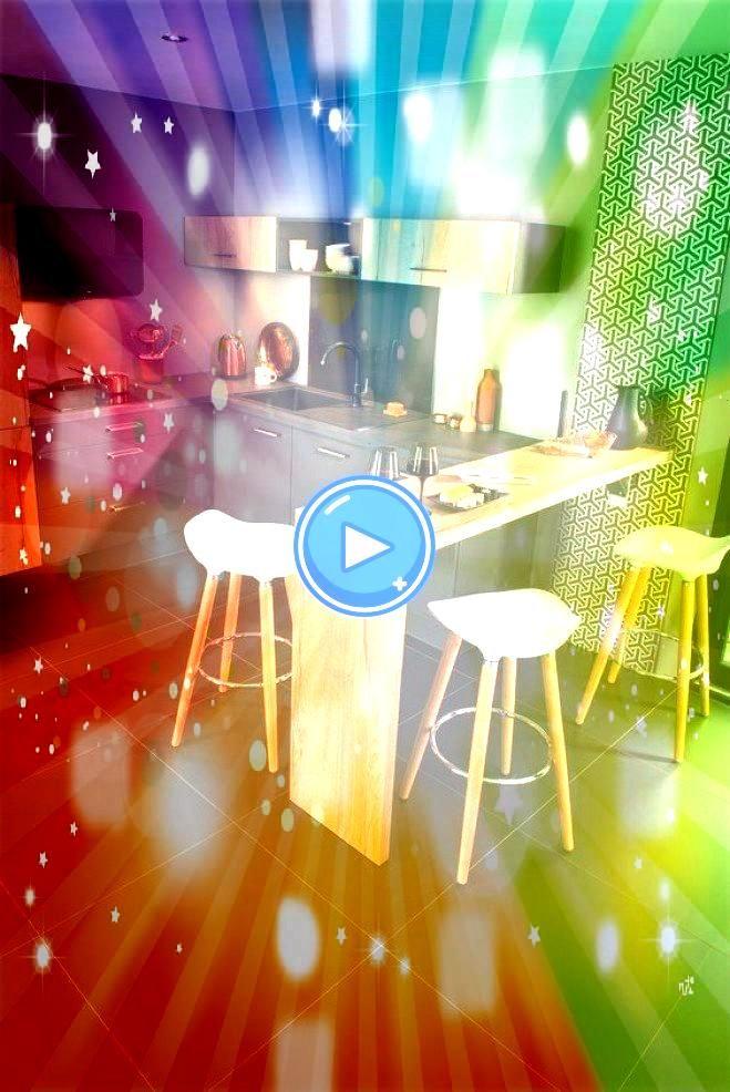 offenen Küchen zur Optimierung des Innenraums Die schönsten offenen Küchen zur Optimierung des Innenraums Cuisine ouverte sur salon réussie  20 astu...