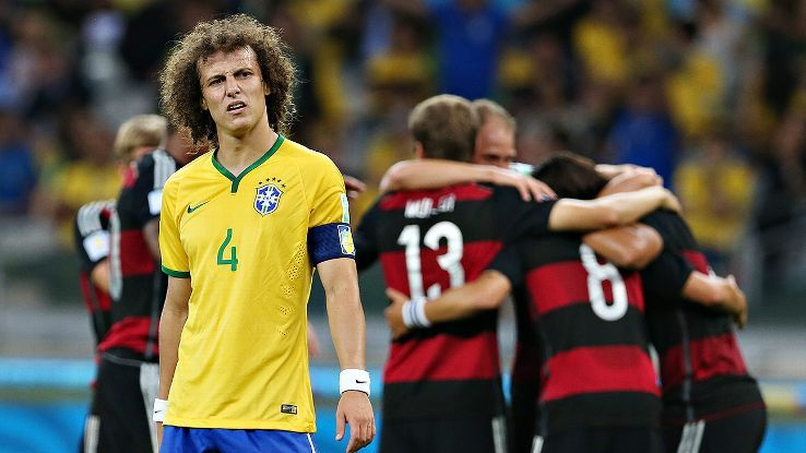 Three Points Brazil Left Broken Bbc Sport Football World Cup Bbc Sport