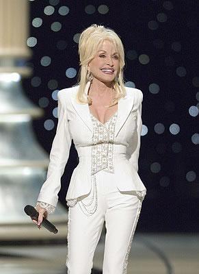 Dolly Parton Travelin Thru At The 78th Oscars