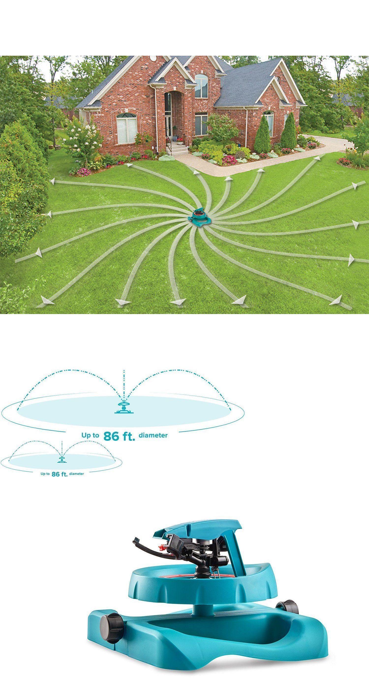 Lawn Sprinklers 20542 Lawn Sprinkler Watering System Water Hose Spray Pattern Garden Sled Base Impulse Buy It Now Only 28 27 On Ebay Casas