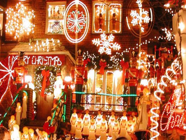 TOUR ESPECIAL- Luces De Navidad de Dyker Hights oli k ase Pinterest - Luces De Navidad