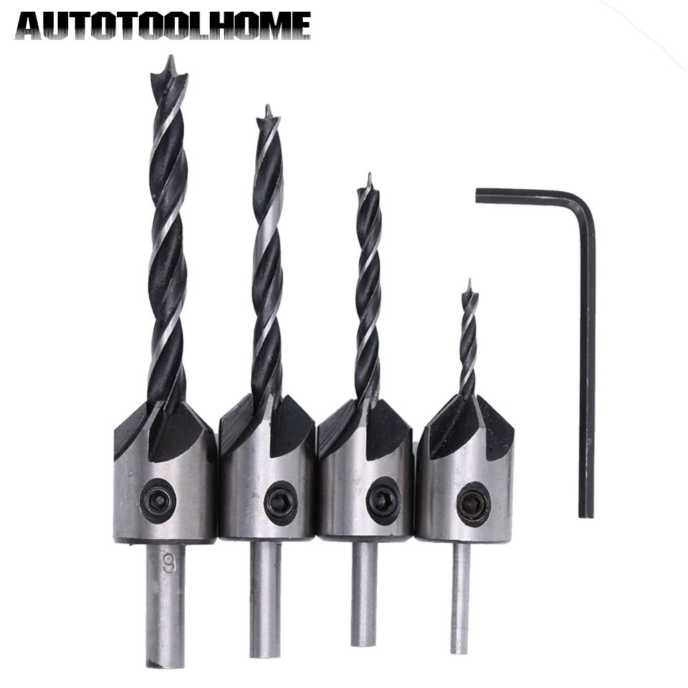 Wood Routing Drill Bit