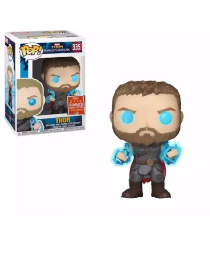 fe1334fbd3d SDCC 2018 THOR RAGNAROK GLOWS IN THE DARK FUNKO POP WITH SUMMER CONVENTION  EX. (eBay Link)