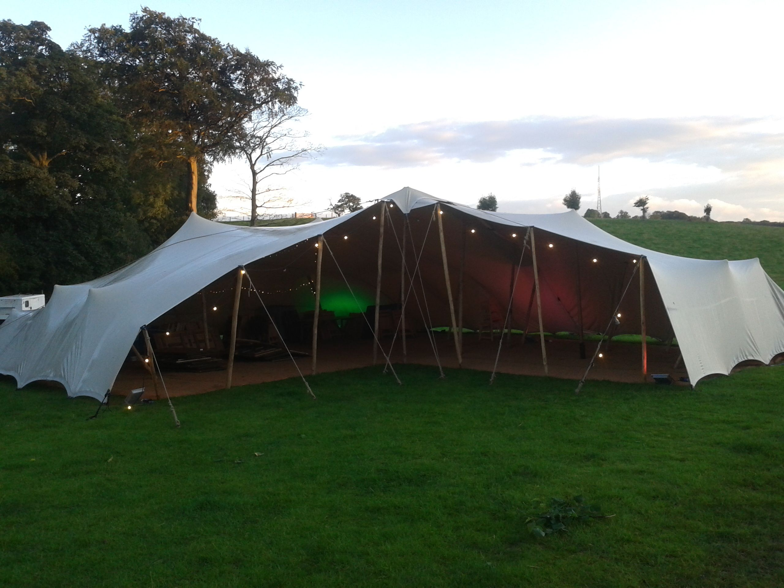Stretch tent 10x15 with 8x8m attached with courtyard area wooden stretch tent 10x15 with 8x8m attached with courtyard area wooden poles stretch marquee wedding tent junglespirit Images