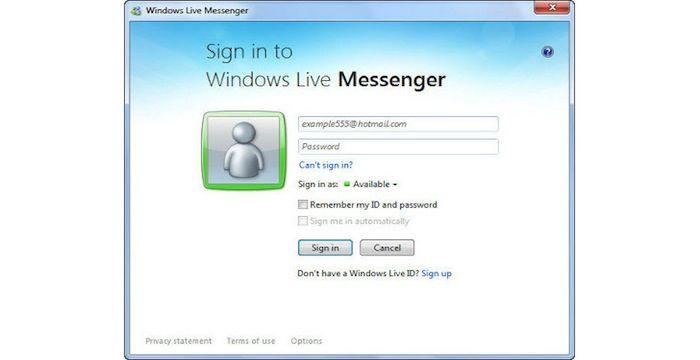 msn login sign up