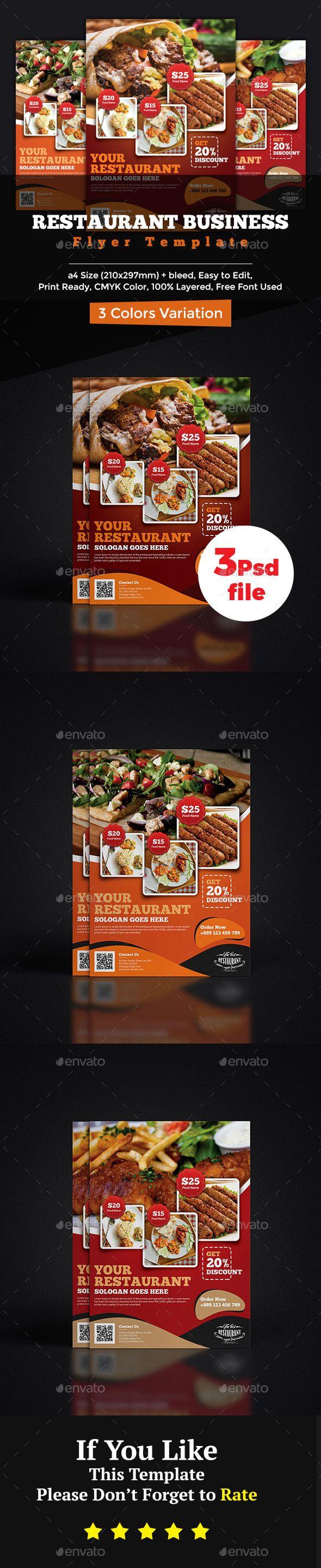 Restaurant Flyer Templates Heartpulsar