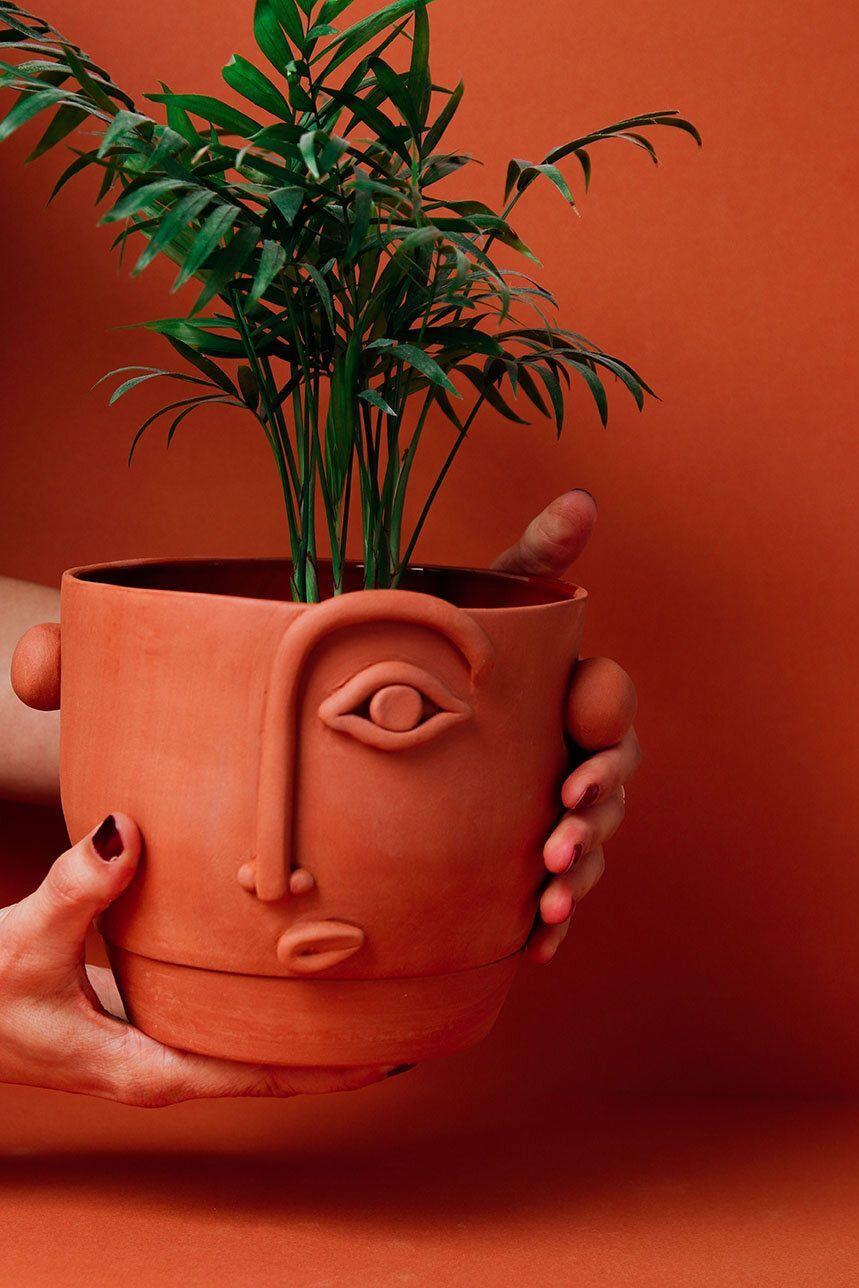 Madriguera Workshop Face Planter Diy Clay Crafts Clay Crafts Handcraft