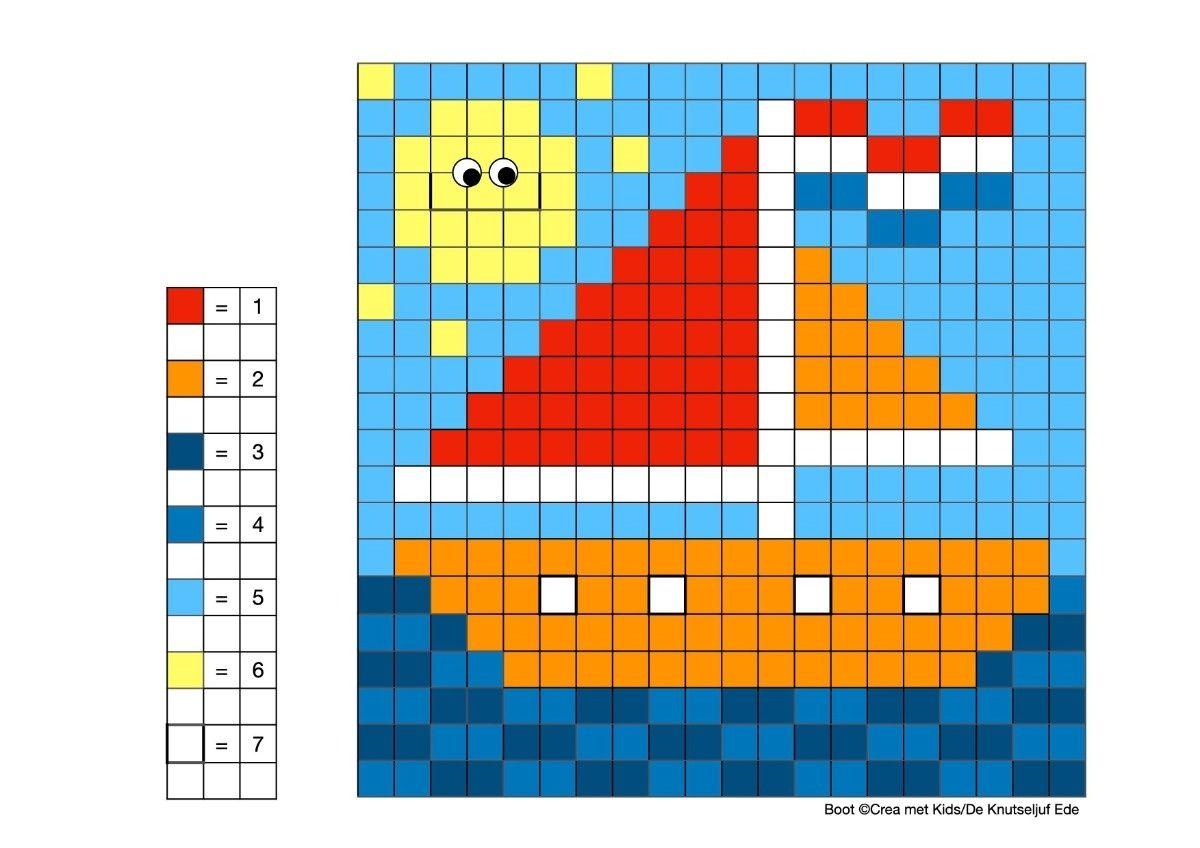 Coderen Met Kleuren Voertuigen Coderen Kleurplaat Kleurplaten Huisdieren Verkeer De Knutseljuf Ede Kleuren Voertuigen Gratis Printables