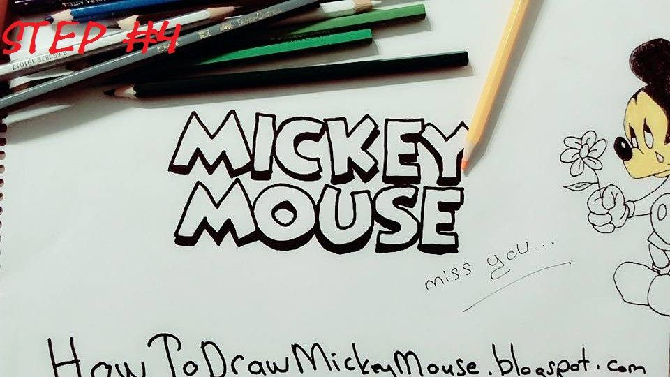 hello there do you want to learn drawing mickey mouse with me