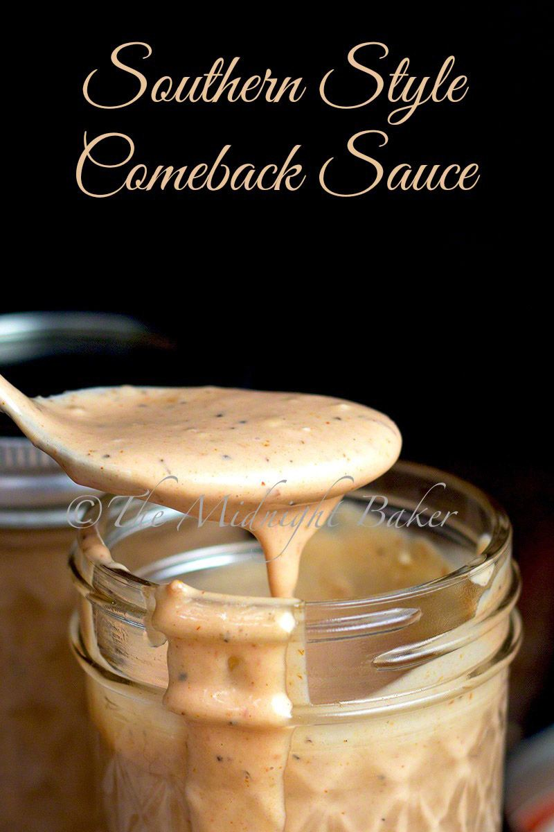 Maybe the delish mysterious sauce I had in the Caymans on conch? Comeback sauce