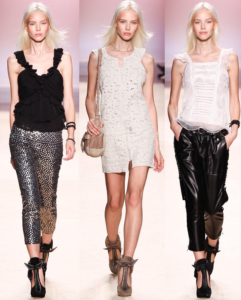 Sasha Luss backstage at Dolce & Gabbana Spring 2014 RTW at