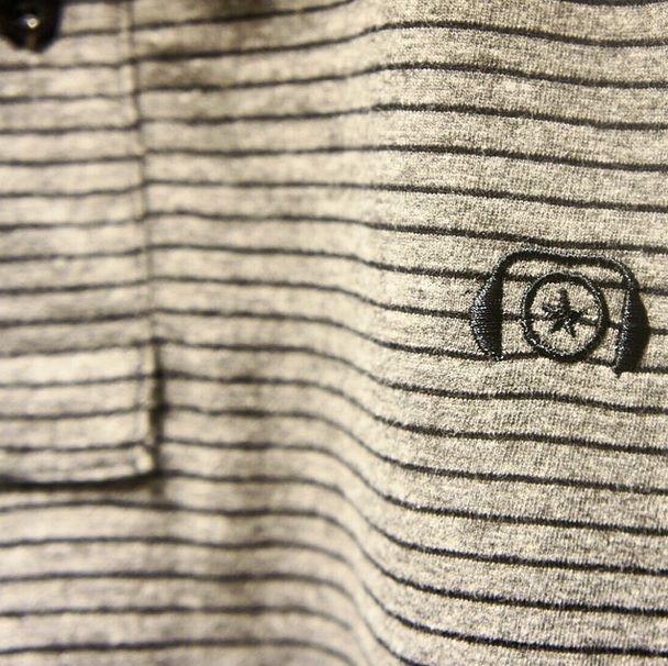 Detalhe da nossa polo listrada Hang Over!   Já na Loopy e no e-commerce. É TOP!  Compre aqui: http://goo.gl/rx0MKu  #loopy #loopyoficial #loopyteam