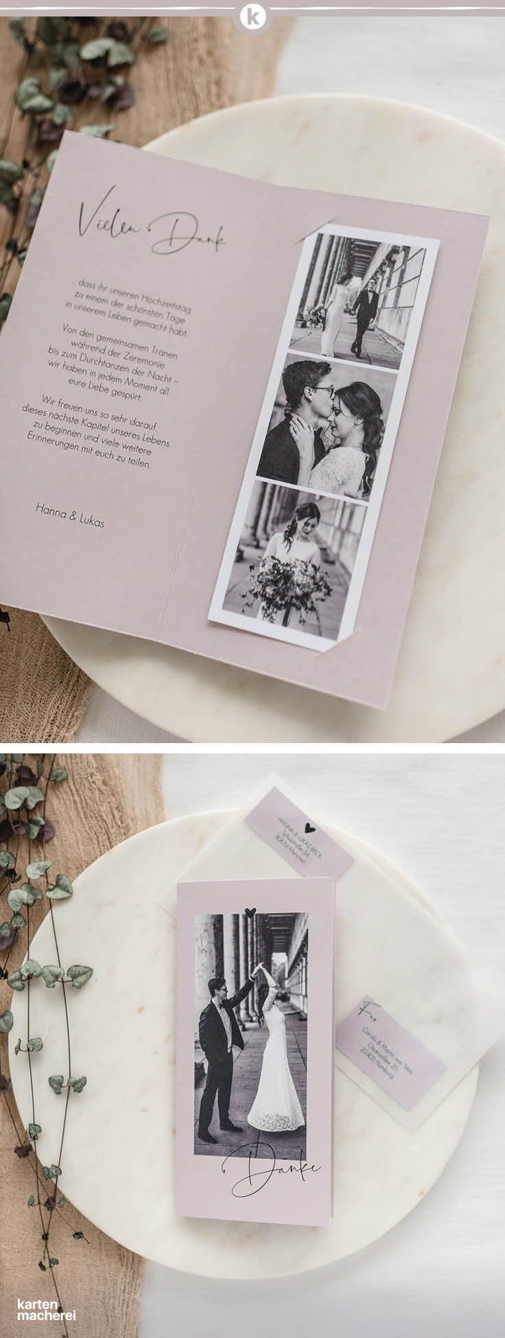 Dankeskarte Hochzeit Lovevibes Karte Hochzeit Dankeskarte Hochzeit Dankeskarten