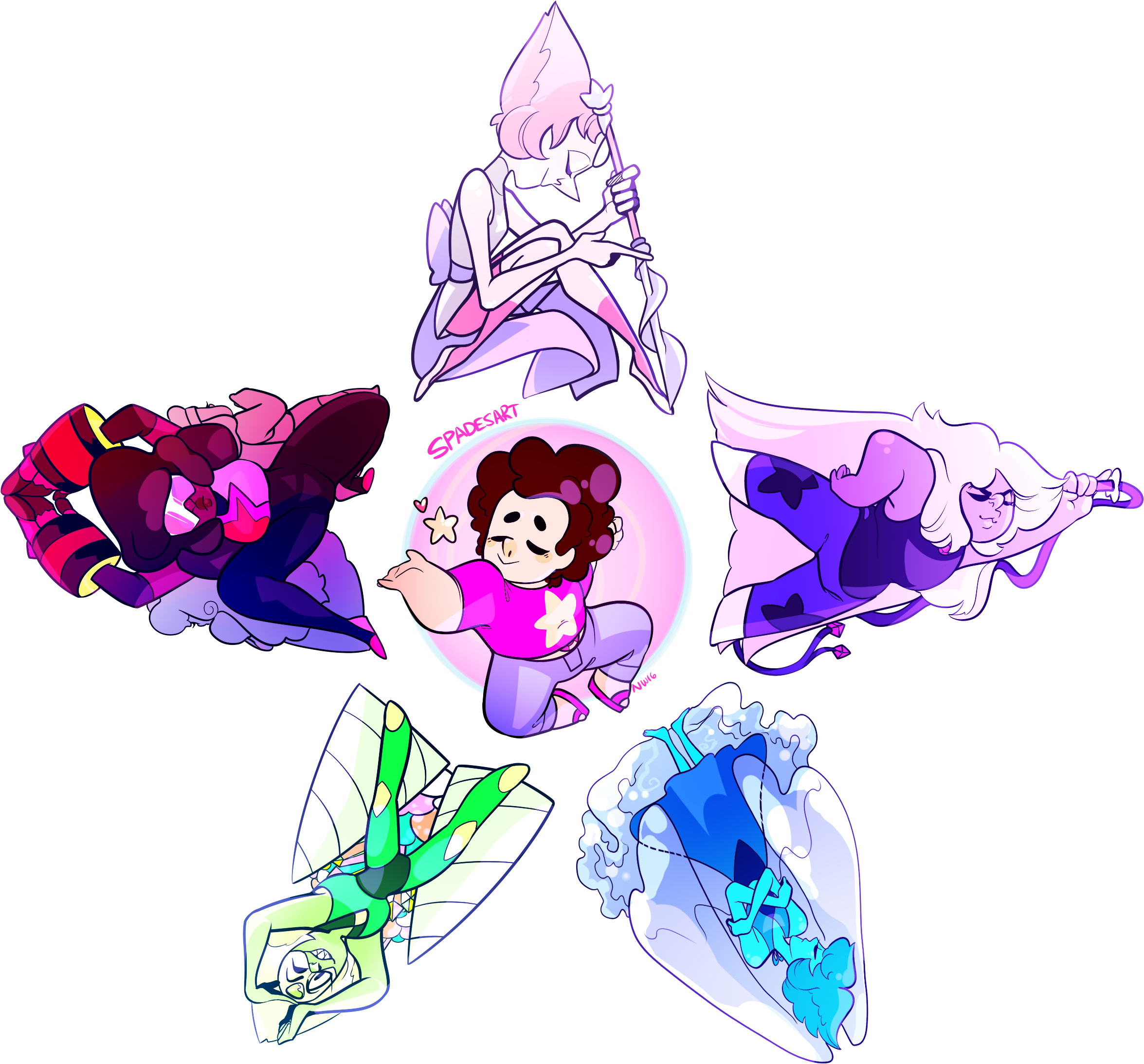 Download And Share Clipart About Garnet Steven Universe Pearl Gemstone Crystal Stev Steven Universe Wallpaper Steven Universe Diamond Steven Universe Tattoos