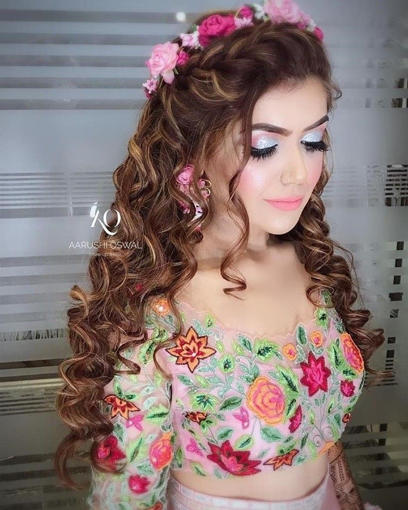 17 Stunning Indian Hairstyles Wedding Engagement Indian Wedding Hairstyles Indian Hairstyles Engagement Hairstyles