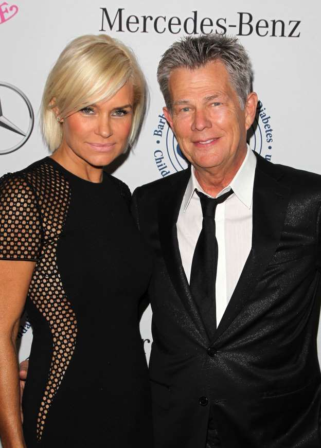 David Foster 67 And Katharine Mcphee 33 Ignite Romance Rumors Yolanda Foster David Foster Wife Celebrities