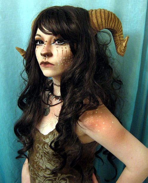 35 Halloween costume ideas inspired by myths, legends and fairy tales. satyr or faun.