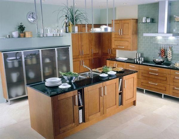 einrichtungsideen küche küchengestaltung küche mit kochinsel - kleine küche mit kochinsel