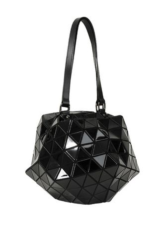 b9d913c0be20 Issey Miyake BAO BAO Ball Shaped Hand Bag Handbag BILBAO PLANET Black Free  Shipping JAPAN