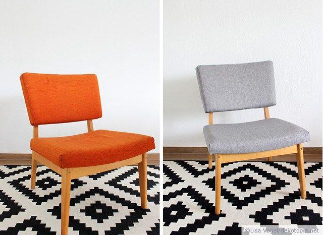 aufgem belt 70s polsterstuhl beziehen diy anleitungen deutsch pinterest st hle. Black Bedroom Furniture Sets. Home Design Ideas