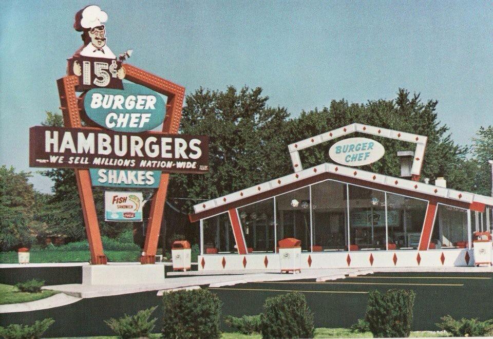 Burger chef 1960s paducah ky my home town paducah