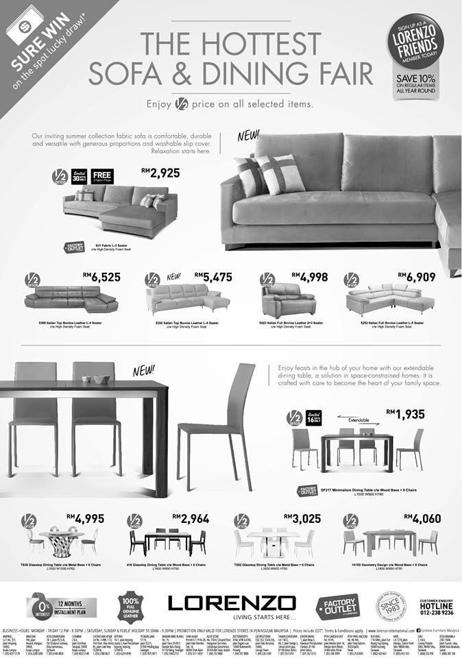 15 30 Apr 2016 Lorenzo Hottest Sofa Dining Fair Dining Sofa Fabric Sofa