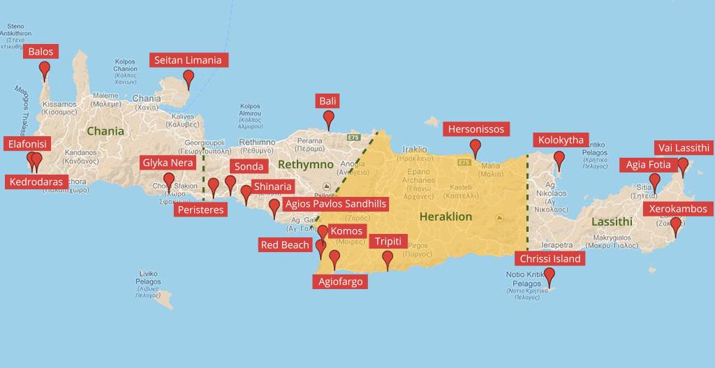 kreta sehenswürdigkeiten karte Pin von John from Dr. Travel auf Griechenland | Kreta, Urlaub
