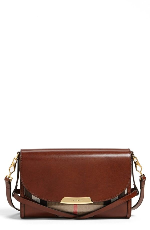 Check out the bridle and saddle inspired detail on this Burberry crossbody. ee1fac44dd45c