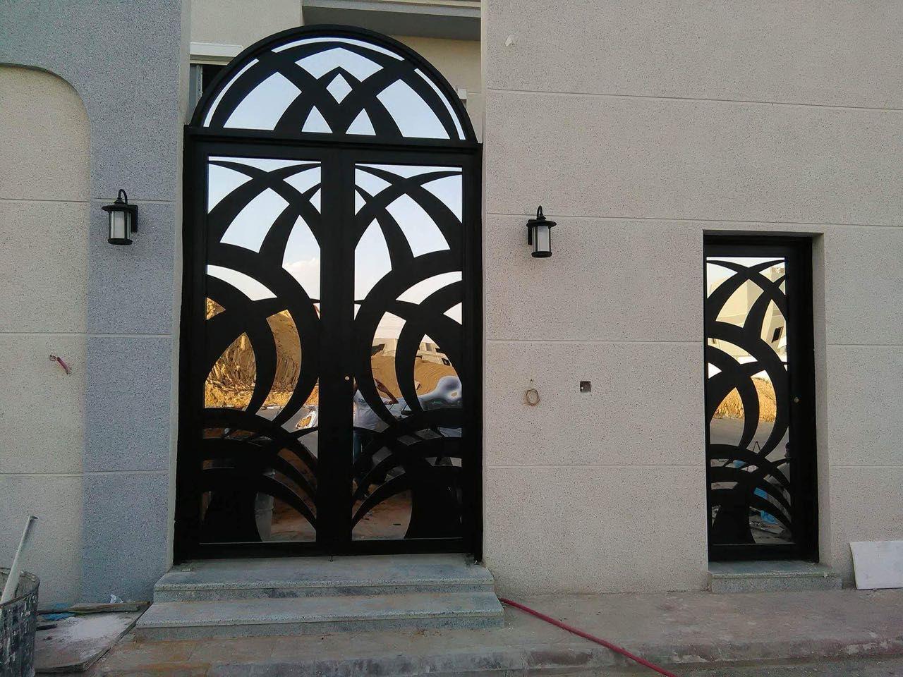Door Metaldoor Creativemetals Saudiarabia Riyadh Laser Cnc Outdoor Metal Door Door Design Steel Doors