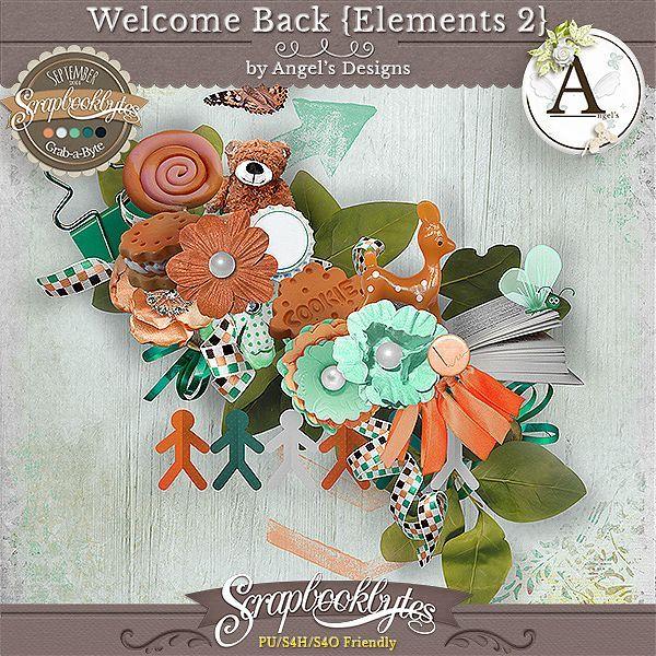 Welcome Back d'Angel's Design - pack à 1 euros