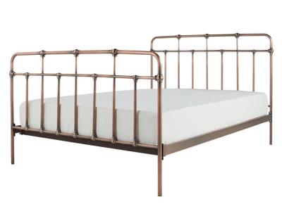 Starke Metallbett 140 X 200 Cm Kupfer Bett Ideen Bettgestell Doppelbetten